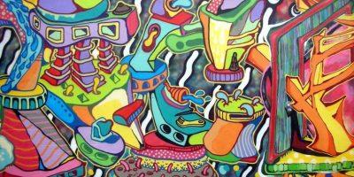 Street Art Graffiti Couleur